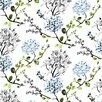 Vallila Compass 11m L x 53cm W Floral and Botanical Roll Wallpaper