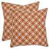 Safavieh Alice Cotton Throw Pillow (Set of 2)