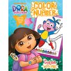 Bendon Publishing Intl Dora Color by Number Book with Foil Book