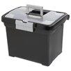 Sterilite Portable File Box (Set of 4)