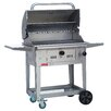 Bull Outdoor Products Bison Charcoal Grill with Side Shelves