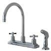 Kingston Brass Millennium Centerset Kitchen Faucet
