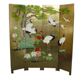 182cm x 180cm 4 Panel Room Divider