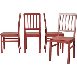 carolina solid wood dining chair set of 4