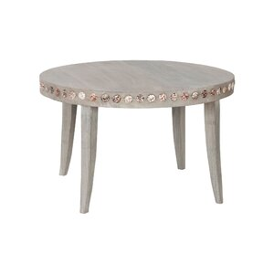Ingleside Shell Coffee Table by Rosecliff Heights