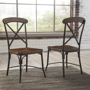 Gigi Solid Wood Dining Chair (Set Of 2)