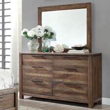 Fidelia Transitional Dresser and Mirror by Laurel Foundry Modern Farmhouse