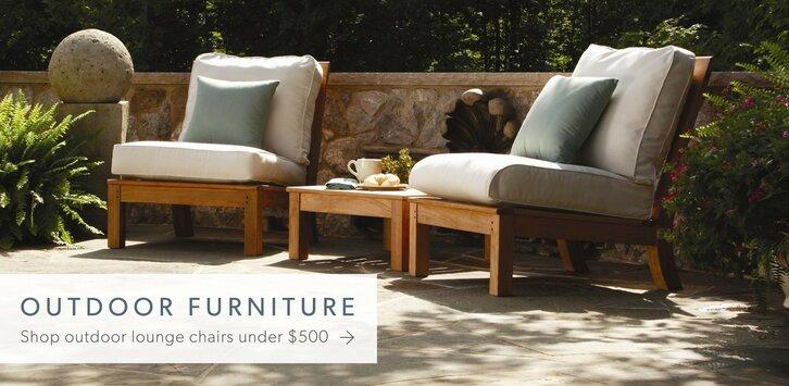 LABOR DAY PRE SALE. Outdoor Furniture + Decor