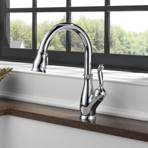 Leland Single Handle Pull Down Standard Kitchen Faucet