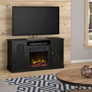 Fritz 48  Entertainment Centers With Fireplaces