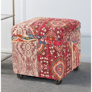 Vrabel Storage Ottoman by Bungalow Rose