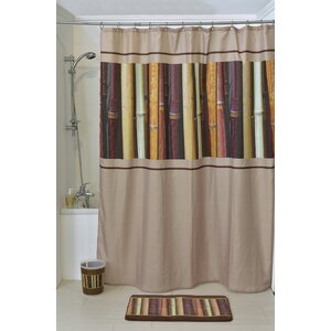 Java Printed Shower Curtain Evideco