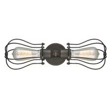Dakota 2-Light Bowtie Wall Sconce
