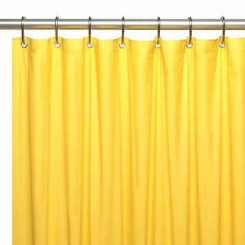 United Linens 10 Gauge Heavy Duty High Quality Shower Curtain Reviews
