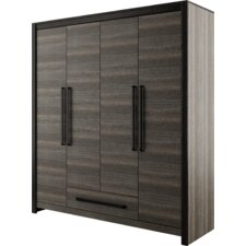 Brianna 4 Doors 1 Drawer Wardrobe Armoire by Ivy Bronx