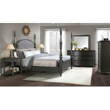 Eau Claire Upholstered Poster Customizable Bedroom Set by Laurel Foundry Modern Farmhouse