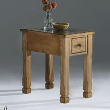 Rustic Ridge Chairside Table by Progressive Furniture Inc.