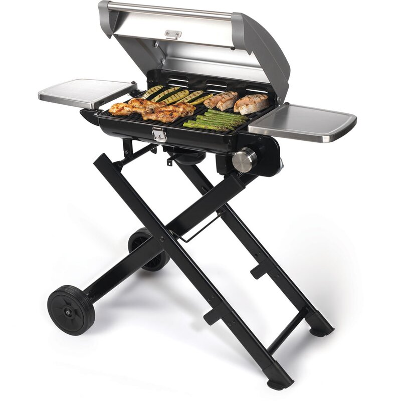 All-Foods Roll-Away Portable Propane Gas Outdoor Grill