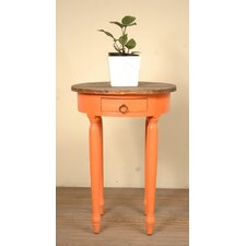 Kaelyn Round End Table by August Grove