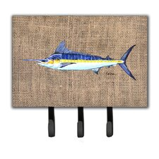 Marlin Fish Leash Holder and Key Hook by Caroline's Treasures