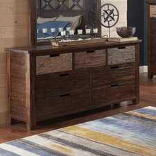 Heritage Hill 7 Drawer Double Dresser by Loon Peak