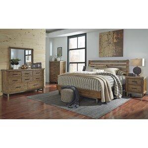 Desjardins Queen Platform Customizable Bedroom Set