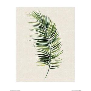 'Tropical Leaf II' Painting Print