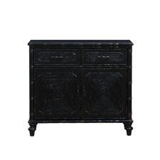 Jamaa 2 Drawer 2 Door Cabinet by World Menagerie