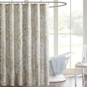 100% cotton shower curtains you'll love | wayfair