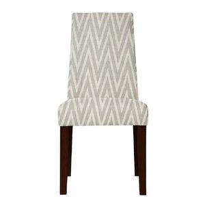 Haddonfield ZigZag Parsons Chair (Set of 2) Latitude Run