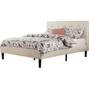 Superior Leonard Upholstered Platform Bed