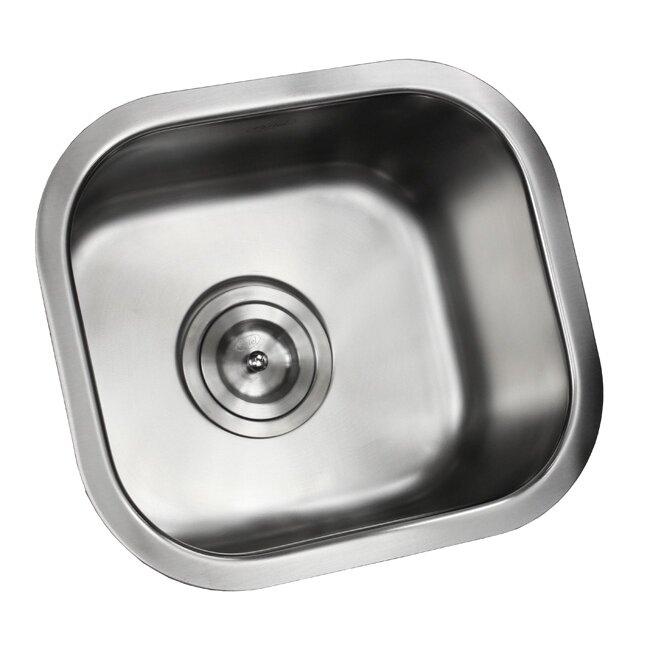 Ariel Stainless Steel Undermount  Bowl Kitchen Sink