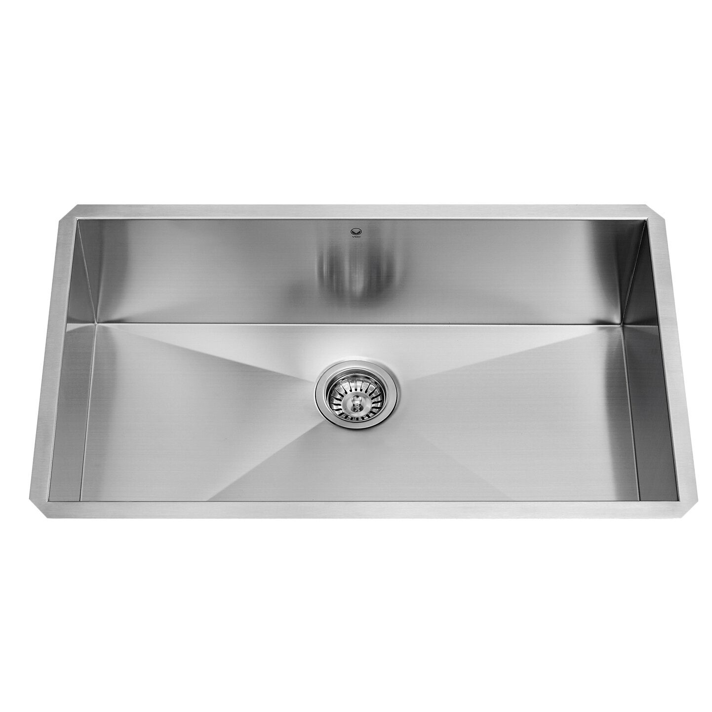30 x 19 undermount single bowl 16 gauge stainless steel kitchen sink - Stainless Steel Kitchen Sink Gauge