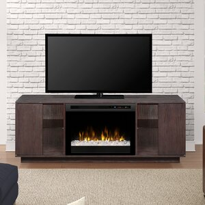 Television Firebox 64.125 TV Stand with Fireplace by Dimplex