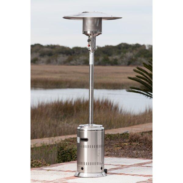 Fire Sense Commercial 46,000 BTU Propane Patio Heater U0026 Reviews | Wayfair