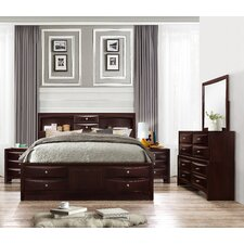 Oreland Platform 5 Piece Espresso Bedroom Set by Red Barrel Studio