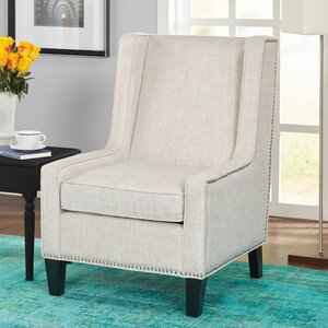 Mystic Cay Wingback Chair by Ivy Bronx