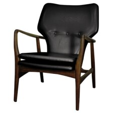 Rosanna Bonded Leather Armchair by Corrigan Studio