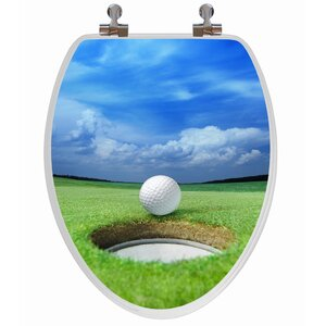 3D Series Golf Elongated Toilet Seat Topseat