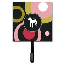Pit Bull Leash Holder and Wall Hook by Caroline's Treasures