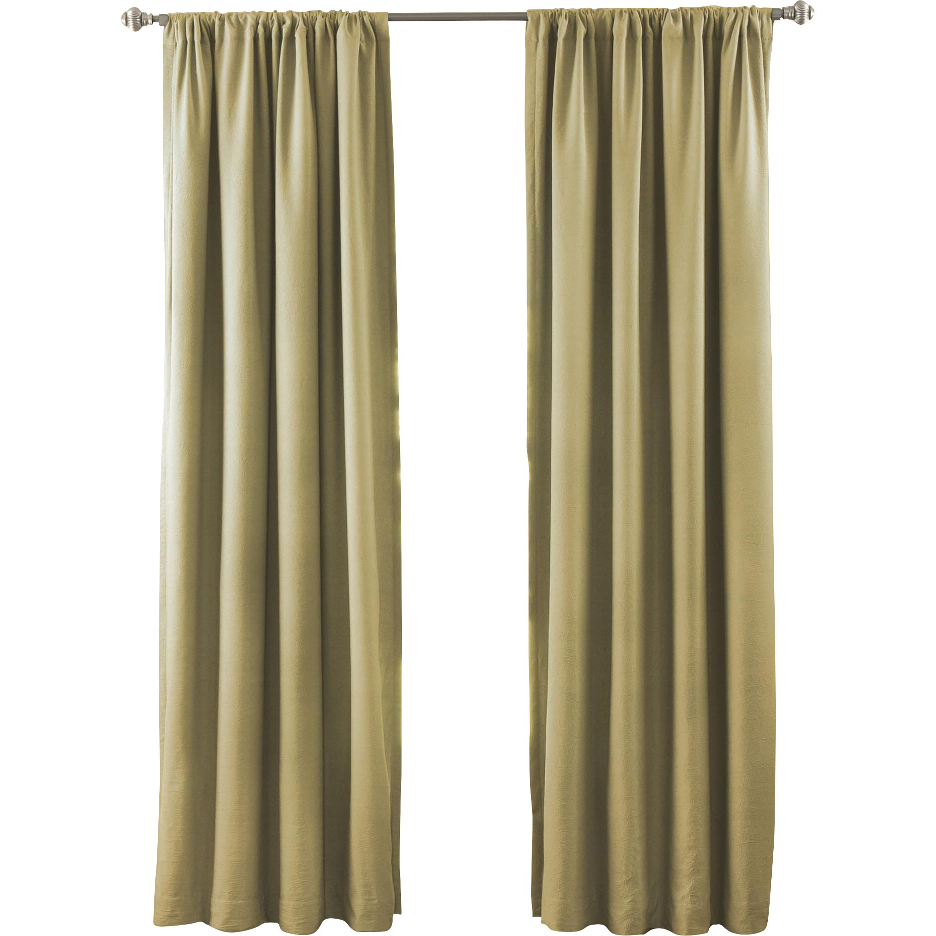 Beachcrest Home Lura Solid Blackout Thermal Rod Pocket Single Curtain Panel Reviews