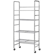 Mobile Storage Shelving Unit by Buddy Products