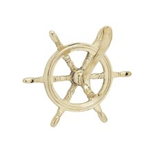 Ship Wheel Wall Hook by Breakwater Bay