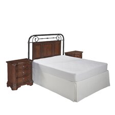 Richmond Hill Panel 3 Piece Bedroom Set by Home Styles