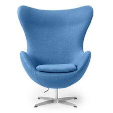 Amoeba Wingback Chair by Kardiel