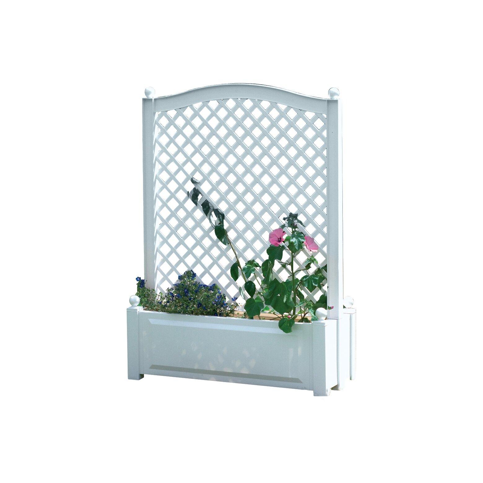 khw rechteckiger pflanzkasten mit spalier bewertungen. Black Bedroom Furniture Sets. Home Design Ideas