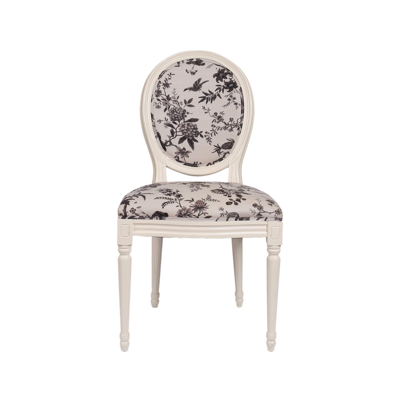 Derry s Louis Floral Dining Chair & Reviews