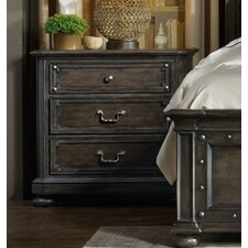St. Armand 3 Drawer Nightstand by Hooker Furniture