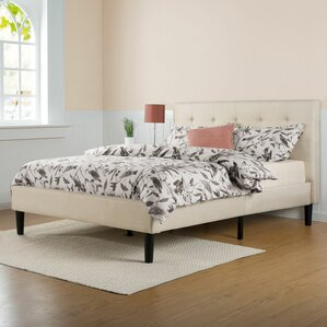 festa upholstered platform bed - Bed Frame For Twin Bed