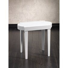 Leeza Rectangular End Table by Zodax